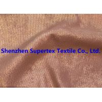 Quality Golden Foil Blotch Print Corduroy Stretch Polyester Nylon 16Wales 210GSM for sale