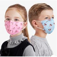 Quality Children'S Face Mask / 3 ply ear-loop kids disposable protective face mask for sale