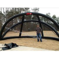 Quality portable pvc inflatable batting cage  , inflatable hitting cage for sale for sale