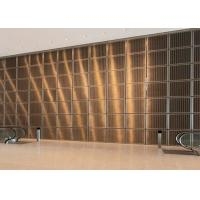 Quality Enhance Aesthetics Stainless Steel Decorative Panels High Electrical Conductivity for sale