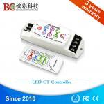 Quality BC-310RF  DC 5V 12V 24V DIY Color Temperature led controller; 8A 2 channels RF remote touch dimmer for sale