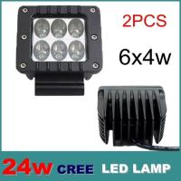 Quality 24W LED Flood work Lamp Light Offroads For Trailer Off Road Boat truck,ATV, SUV, mining for sale