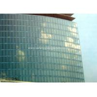 Curve / Flat Laminated Safety Glass Minimum Size 250 Mm-350 Mm Solid Structure for sale