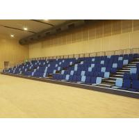 University Modular Grandstands Upholstered Seating For Muti Purpose Hall