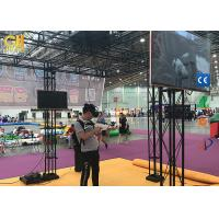 China HTC Vive VR Platform 9D Interactive Movie Walking VR Cinema Shooting Battle Games for sale
