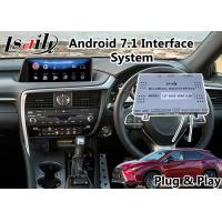 Buy cheap Android 7.1 Multimedia Video Interface for 2015-2018 Lexus RX 200t 12.3 Inch from wholesalers