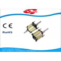 Quality High Voltage Dual Shaft Permanent Magnet DC Motor Used For Massager for sale