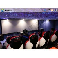 Quality 3D Glasses 5D Movie Ticket 5D Movie Theater With 5D Motion Ride / Control System for sale