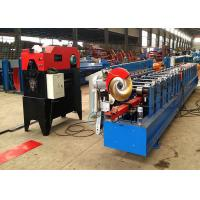 Quality Round Shape Rainspout Down Spout Roll Forming Machine 0.5mm Material PPGI and GI Steel for sale