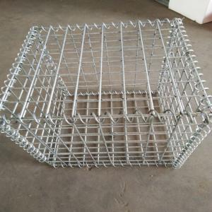 Buy cheap 2 . 0 mm - 4 . 0 mm Galvanized Welded Gabion Box / River Gabion 1 X 1 X 1 M from wholesalers