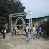 China Safety Heavy Duty Aluminum Box Truss , Non Rust Global Square Truss Lighting on sale