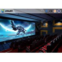 Quality Pneumatic System 5D Movie Theater 6 DOF Platform With Special  Environment for sale
