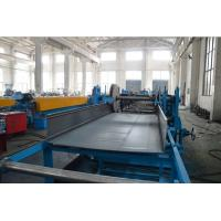 Quality 1.5 - 2.0mm Thickness Slotted Cable Tray Making Machine With 20 Stations for sale