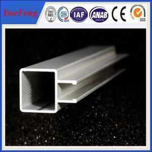 Quality 6063 T5 aluminium extrusions alloy 6000 series / aluminum profiles curtain track for sale