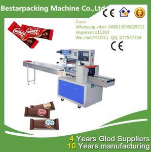 China Chocolate Bars Flow Pack Packing Machine on sale