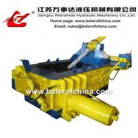 China Aluminum cans scrap metal balers on sale