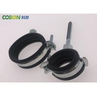 Buy cheap Heating Pipeline Steel Tube Clamps , St12 Pipe Clamp Mounting Bracket from wholesalers
