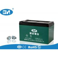 Quality Green Electric Scooter Battery , 12v 12ah Scooter Battery Large Current Capability for sale