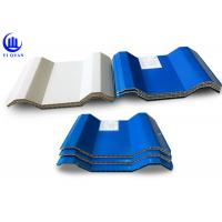 Quality Hollow Style ASA double wall plastic sheet Durable Form 10mm for sale