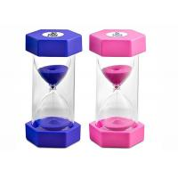 Quality Hourglass Decorative Sand Timer 5 / 30 Minutes Timer Clock Shock Resistant for sale