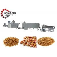 China Large Capacity Pet Food Machine , Dog Food Production Line 1 Year Warranty on sale