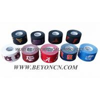 Quality 100% Cotton Fabric Adhesive Printed Athletic Strapping Tape / Coloured Sports Tape for sale