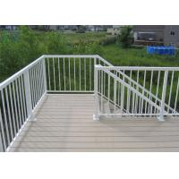 Quality High Performance Exterior Aluminum Stair Railings Corrosion Resistance For Balcony for sale