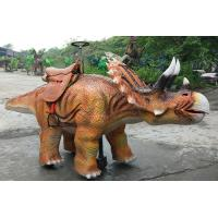 Quality Amusement Park Animatronic Walking Dinosaur Rides For Kids And Adults for sale