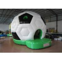 Buy cheap Waterproof PVC Kids Inflatable Bounce House / Classic Inflatable Football Bouncy from wholesalers