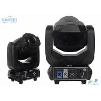 Quality Custom IP20 90W LED Spot Moving Head Light / LED Gobo Spot Light with 18 ° Beam Angle for sale