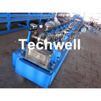 Quality Steel Structure C Shaped Purlin Roll Forming Machine for Making C Purlin Profile by Chain Drive for sale