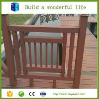 Quality HEYA construction wpc privacy safety fence suppliers China factory price for sale