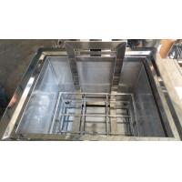 Quality 304 Stainless Steel Heated Soak Tank , 230L 3 KW Oven Cleaning Dip Tank for sale