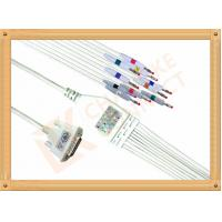 Quality Spacelabs SL6 Ecg Monitor Cable Banana AHA Solid Conductor Type for sale