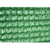 Quality Three Needle Plastic Wire Mesh , Knitted Sun Shade Net HDPE For Greenhouse for sale