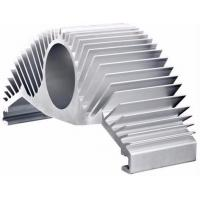 Quality Silver Anodize Extruded Aluminum Heat Sink High Efficiency Heat Dissipation For Motor Housing for sale