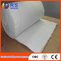 Quality LYGX-112 White Ceramic Fiber Blanket Fire Resistance With Insulation Performance for sale