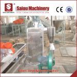 granulated polyethylene plastic granulators waste plastic recycling machine