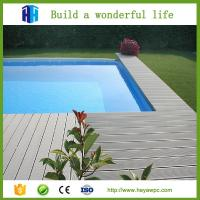 Quality Hot sale!!! Comfortable walking and durable swimming pool deck WPC for sale