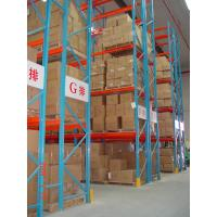 Quality Heavy Duty Pallet Warehouse Racking / Metal Storage Shelves for sale