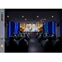 Quality Stimulating Exclusive 6D Movie Theater Holding 30 People For Arcade for sale