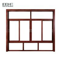 Quality Thermal Break Aluminum Sliding Glass Windows For Residential Silicone Sealant Seal for sale