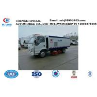 2020s new best price ISUZU brand 4*2 LHD 98hp diesel road sweeper truck for sale, HOT SALE! street sweeping vehicle for sale