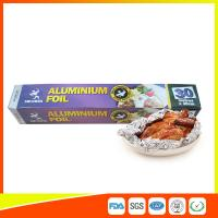 Quality Disposable Food Grade Aluminum Foil Sheets Oil Resistant , Aluminium Sheet Roll for sale