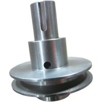 Quality Round Tube Steel Machined Parts Cnc Turning Services For Multiple Spot Drill for sale
