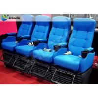 Quality Customized 4D Cinema System , Dynamic Hydraulic Motion Movie Theater for sale