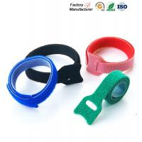 Quality Small Hook And Loop Cable Ties Down Straps , Self Adhesive Hook And Loop Closure for sale