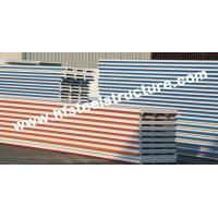 Quality EPS / PU Metal Roofing Sheets With Color Steel Sandwich Panel for sale
