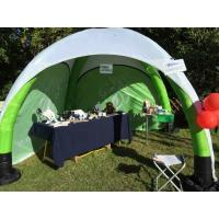 3x3 M Inflatable Trade Show Display Long Service Life Spider Type Heat Transfer Printing for sale