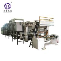 Quality BOPP PVC High Speed Rotogravure Printing Machine 600mm / 800mm Width for sale